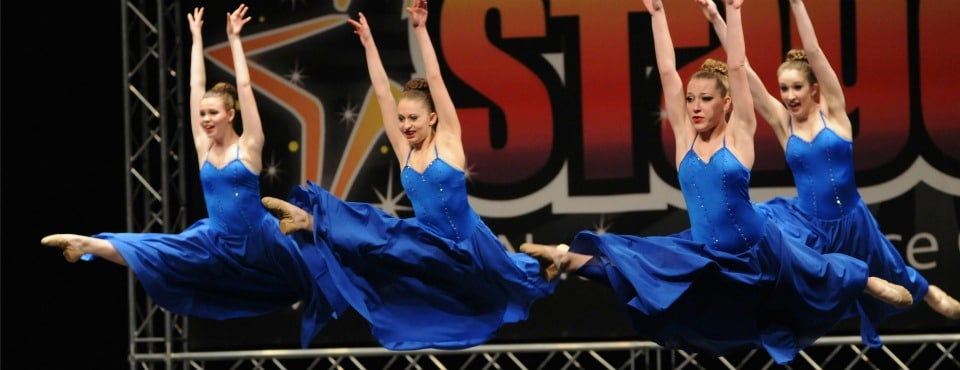 Our dancers at competition!
